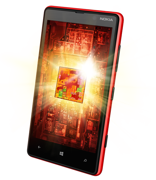 Nokia Lumia 820 qualcomm