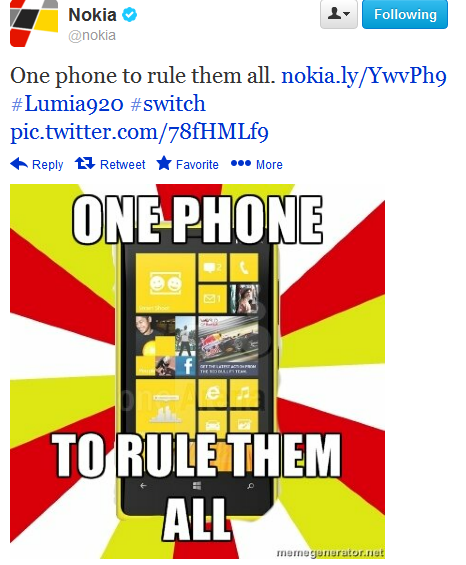 Nokia The One