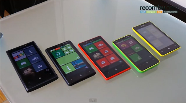 Recombu WP8 Lumia