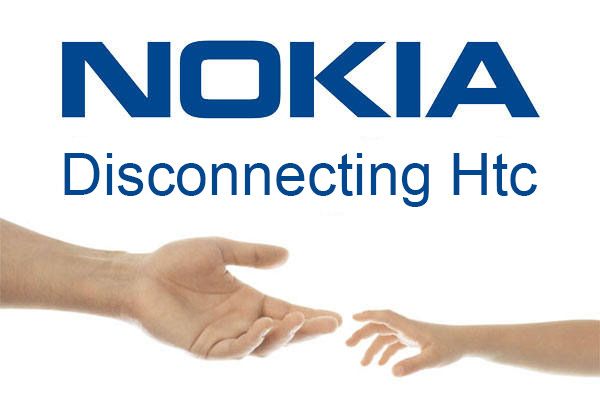 Nokia logo anti HTC