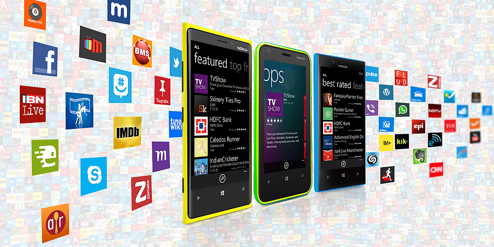 Nokia Lumia applications