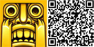 Temple run qr