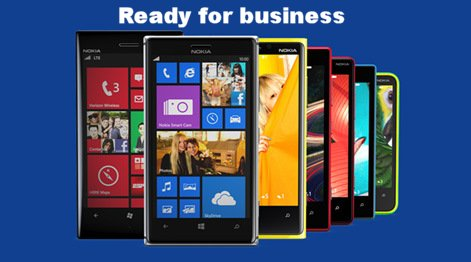 Ready for business Posao Nokia Lumia