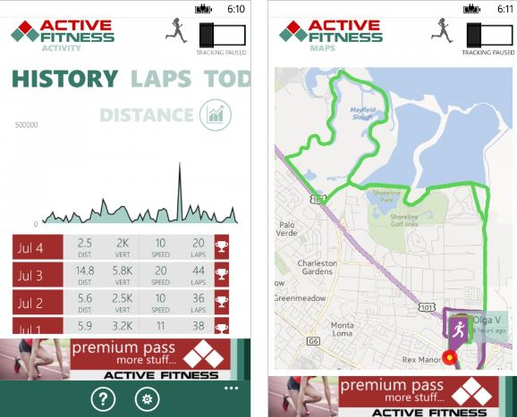 Active-Fitness-Windows-Phone-app
