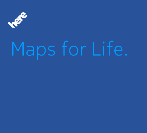Here Maps for Life