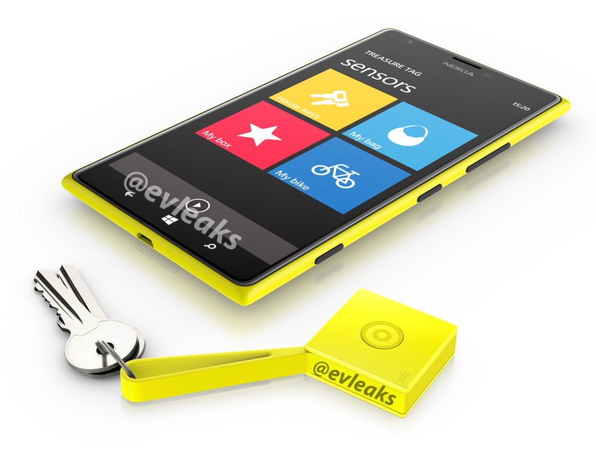 Nokia Treasure Tag