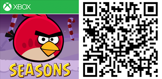 Angry Birds Seasons QR