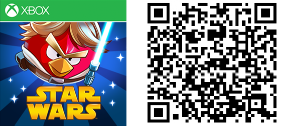 Angry Birds Star Wars QR