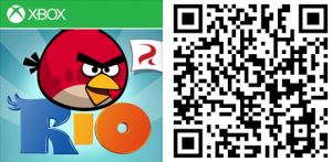 QR Angry Birds Rio WP8