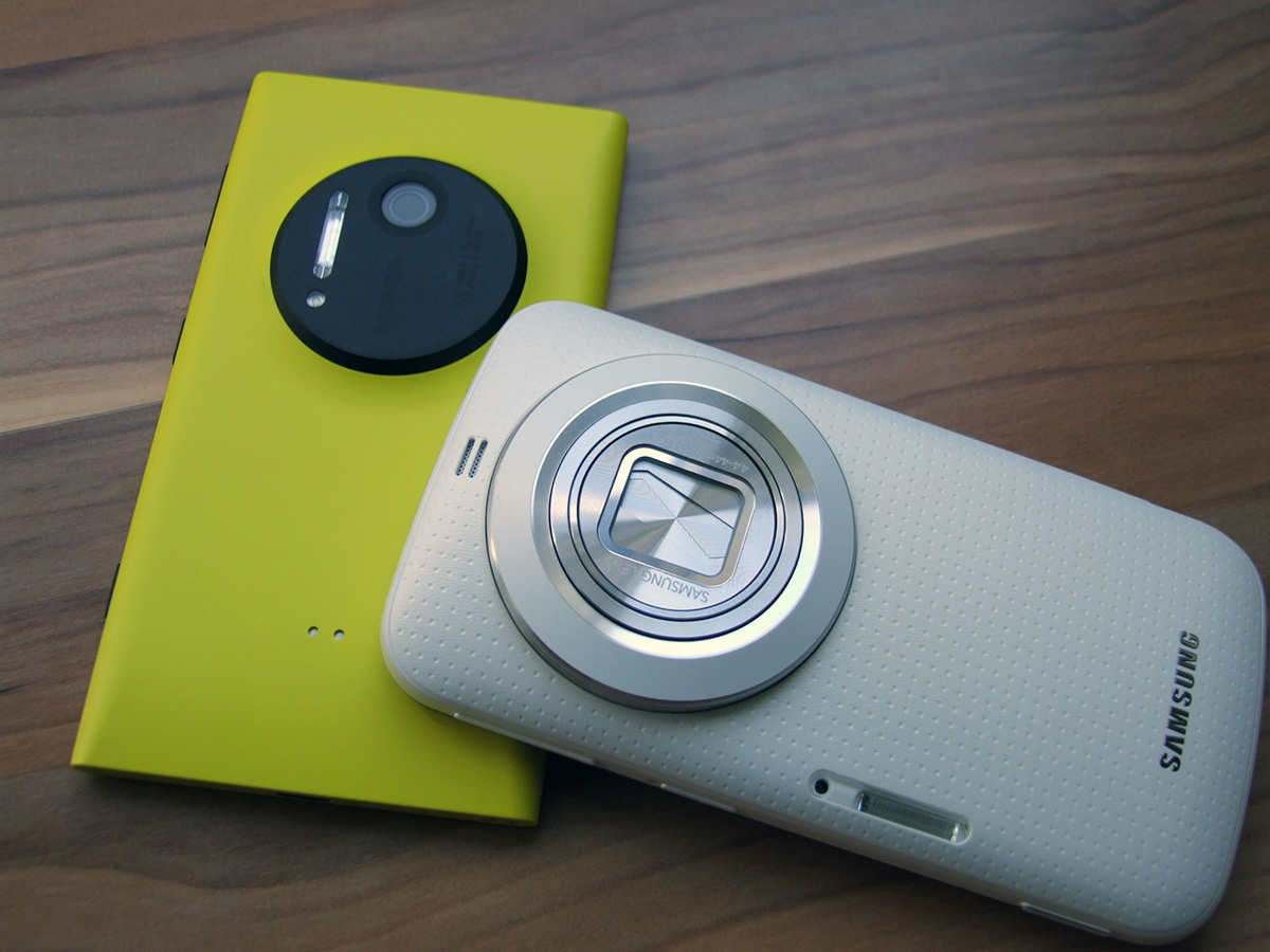 Nokia Lumia 1020 vs. Samsung Galaxy K Zoom