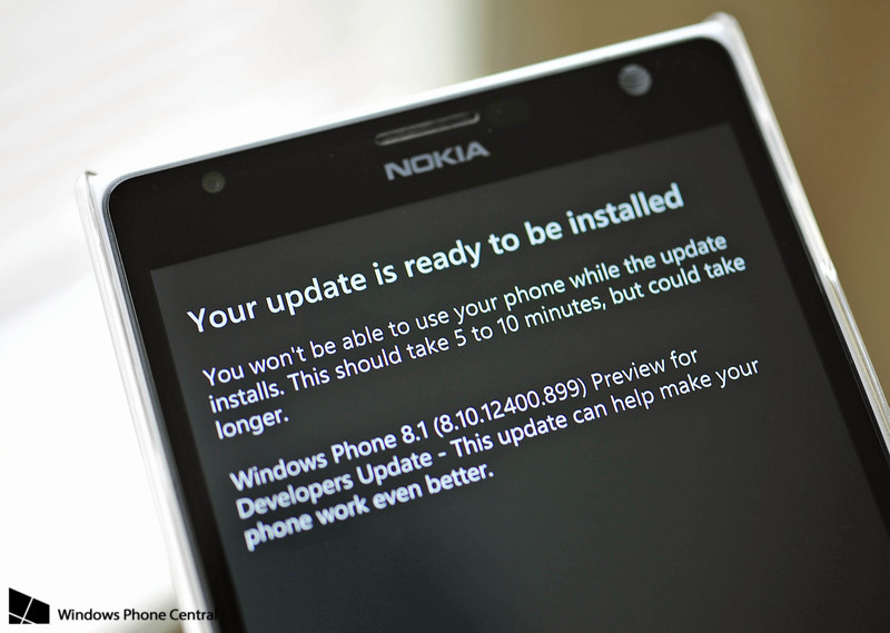 WP8.1 OTA_Update_Dev_preview