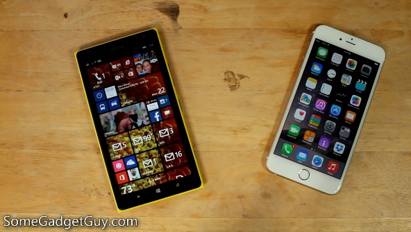 1520 vs iPhone 6 Plus