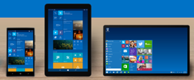 Windows 10 phone and tablet