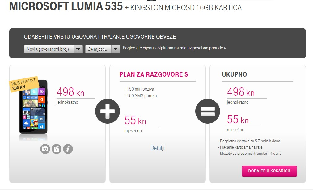 t mobile 535
