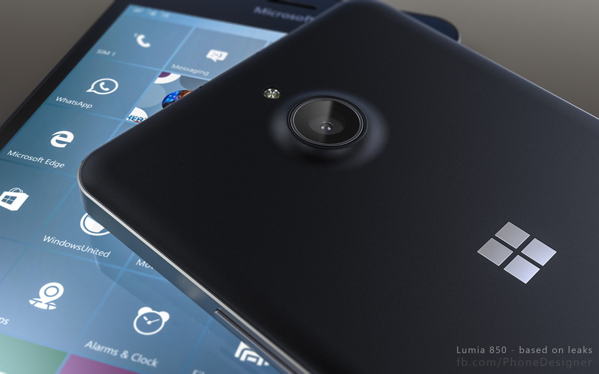 Lumia 850 Phone designer - 3