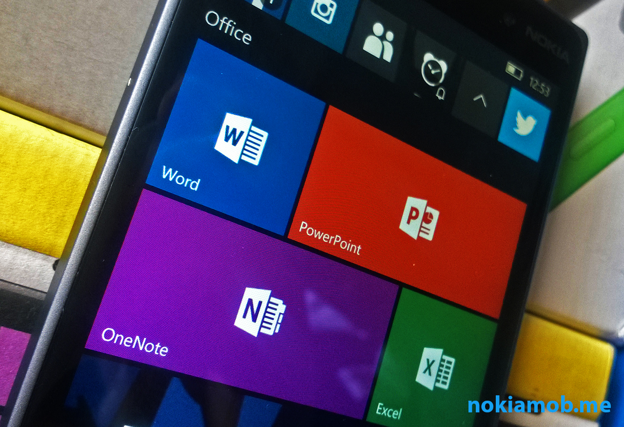 Microsoft Office - Word, PP, Excel, OneNote