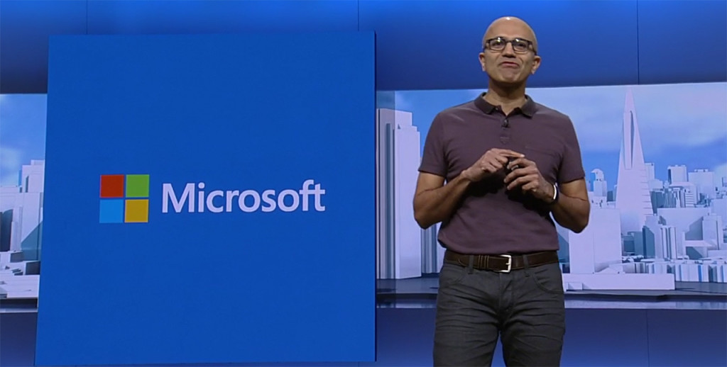 Nadella Microsoft Build