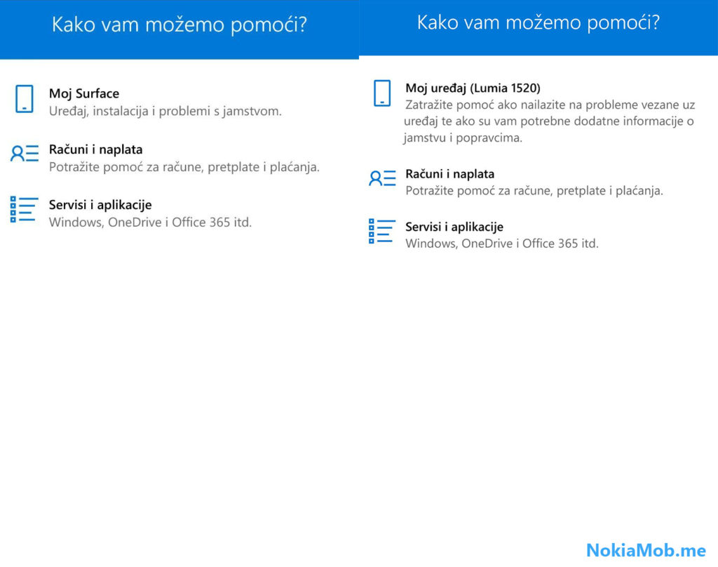 Contact Support SurfacePhone
