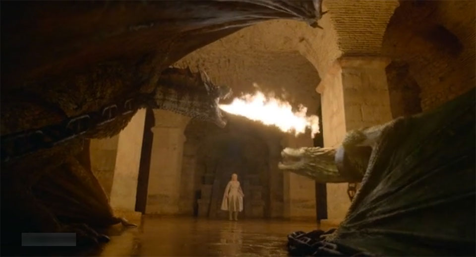 game-of-thrones-season-5-episode-1-daenarys-dragons-catacombs-scene