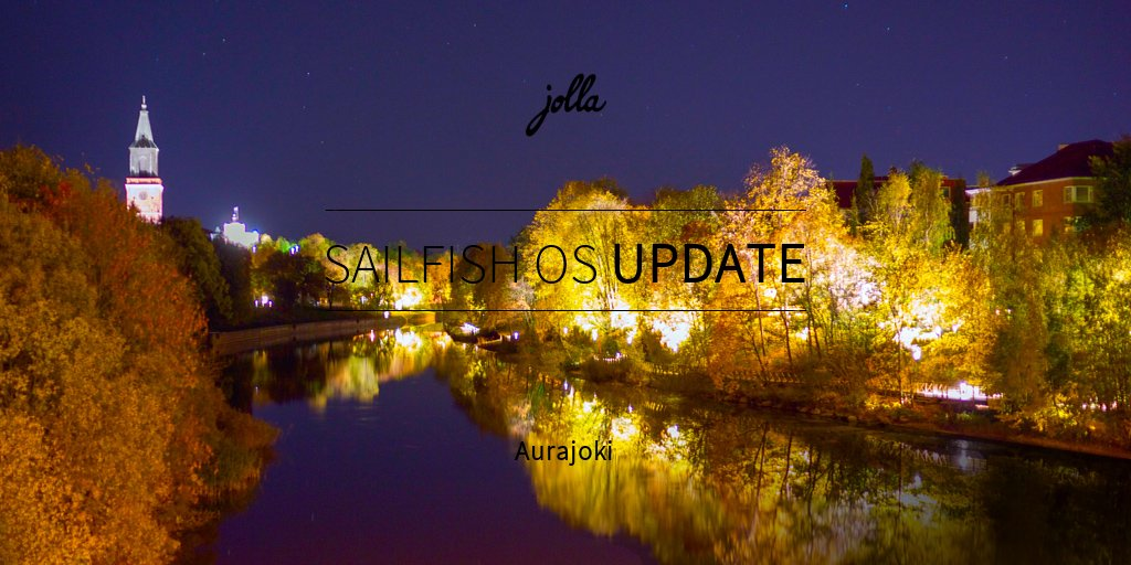 aurajoki sailfish os nadogradnja